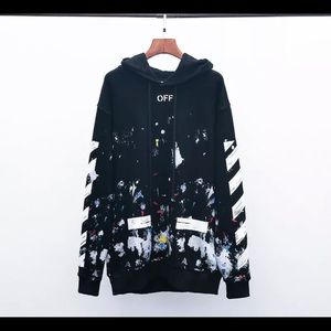 Off white stranger things hoodie
